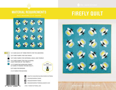 Pen + Paper Patterns - Firefly Quilt pattern
