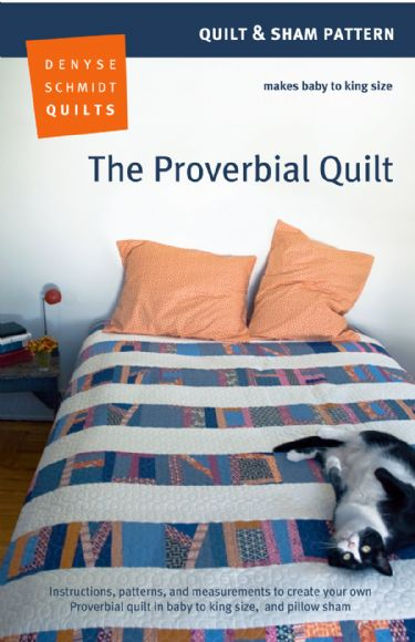 Denyse Schmidt - The Proverbial Quilt - digital pattern