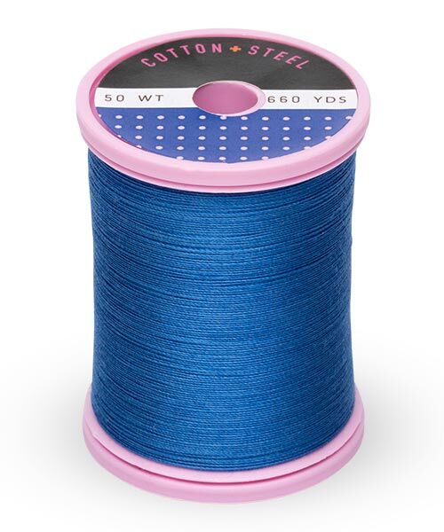 Cotton and Steel Thread by Sulky - Royal Blue