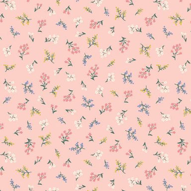 Rifle Paper Co - Strawberry Fields - Petite Fleurs in blush - The Next Stitch