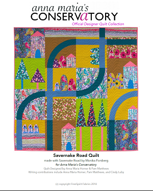 Savernake Road Quilt  - PDF pattern