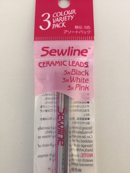 Sewline Mechanical Pencil - multicolour ceramic lead refill
