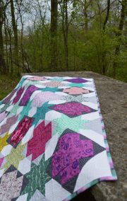 Star Crossed- Quilt pattern from Color Girl Quilts