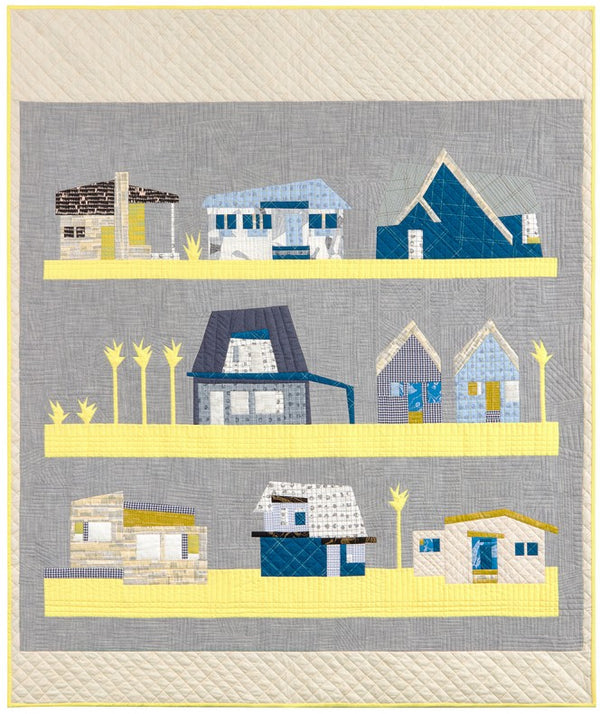 The Local Quilt by Carolyn Friedlander - block of the month