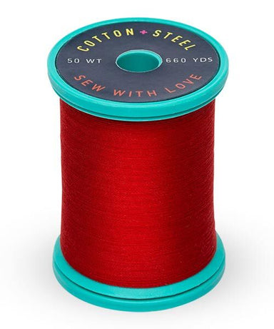 Cotton and Steel Thread by Sulky - True Red