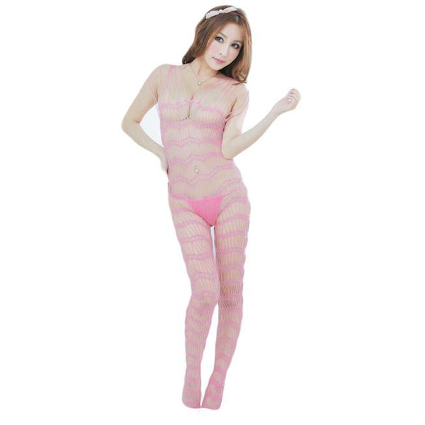 Strapy Lace Bodystocking