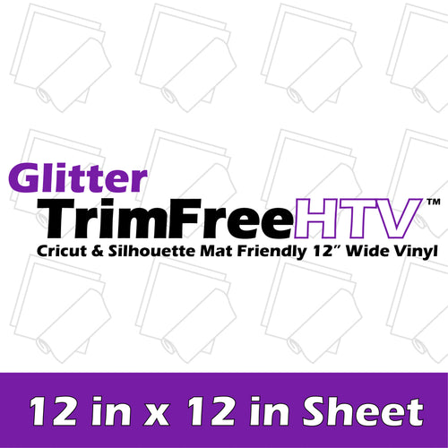 Siser Glitter HTV - 12 in x 12 in Sheet