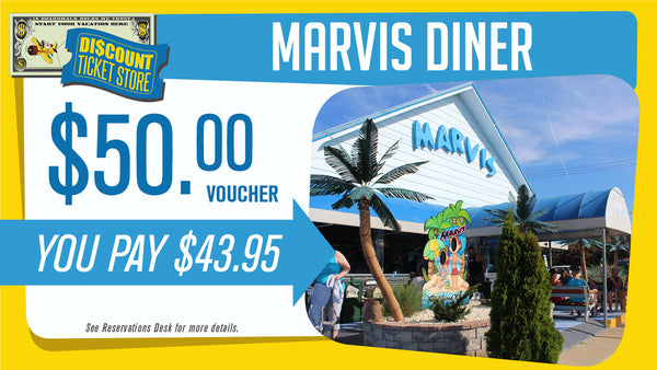 Marvis Diner $50 Voucher