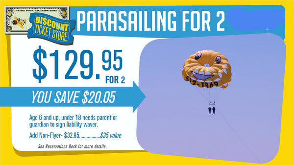 East Coast Parasailing For 2