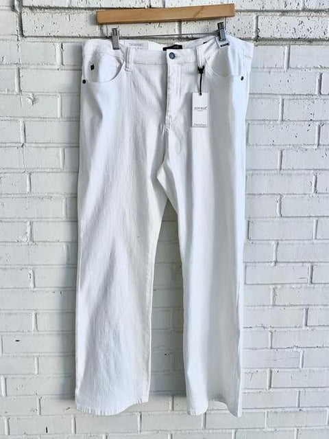 Plus Ivory Bootcut