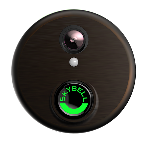 Alarm.com Wi-Fi Doorbell Camera Skybell® HD Edition