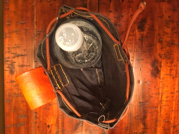 Oilskin Belt Sinch Bag - WildWood Self-Reliance