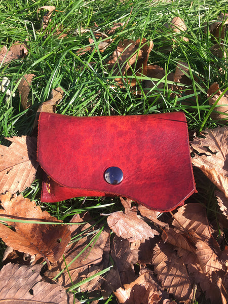 Leather Altoid Tin Belt Pouch - WildWood Self-Reliance