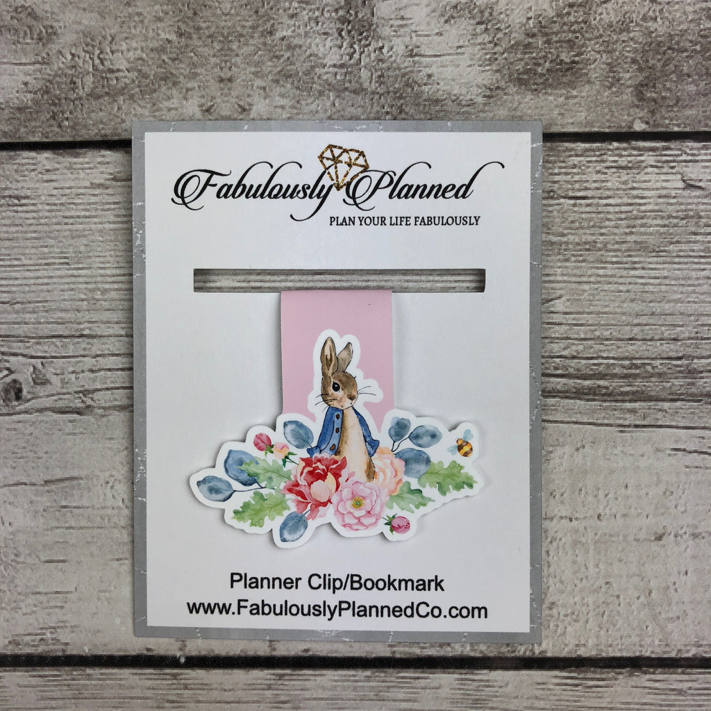 Tales from the Garden  Planner Clip/Bookmark