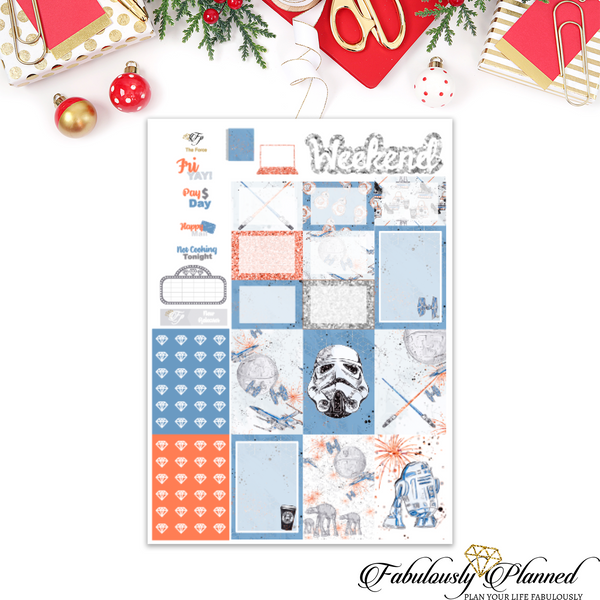 The Force Happy Planner Weekly Kit