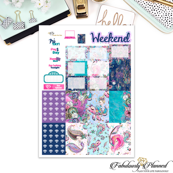 Under the Sea Happy Planner Weekly Kit