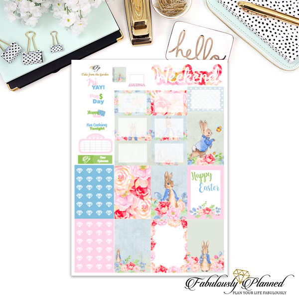 Tales from the Garden Happy Planner Weekly Kit