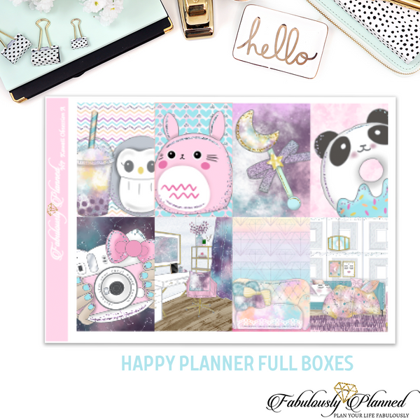 Happy Planner Kawaii Obsession Full Boxes