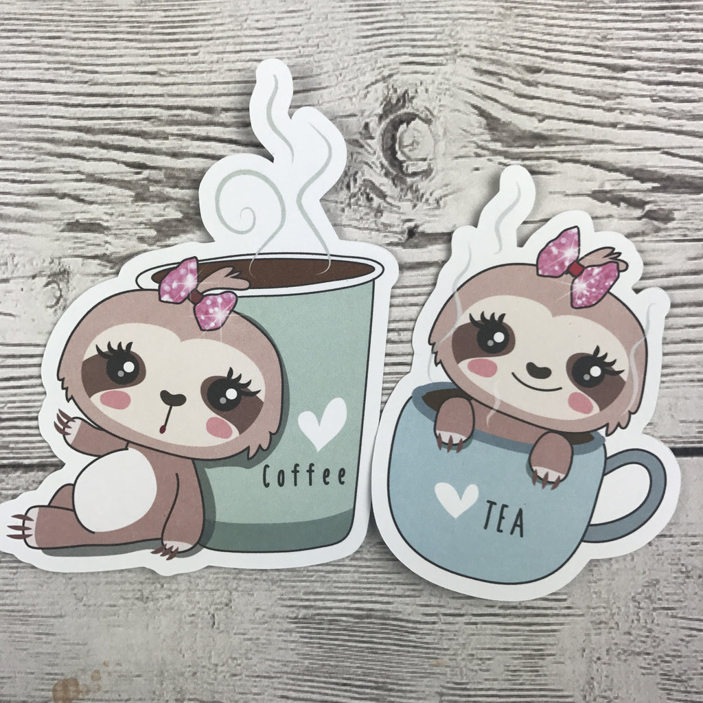 Sloth Die Cuts