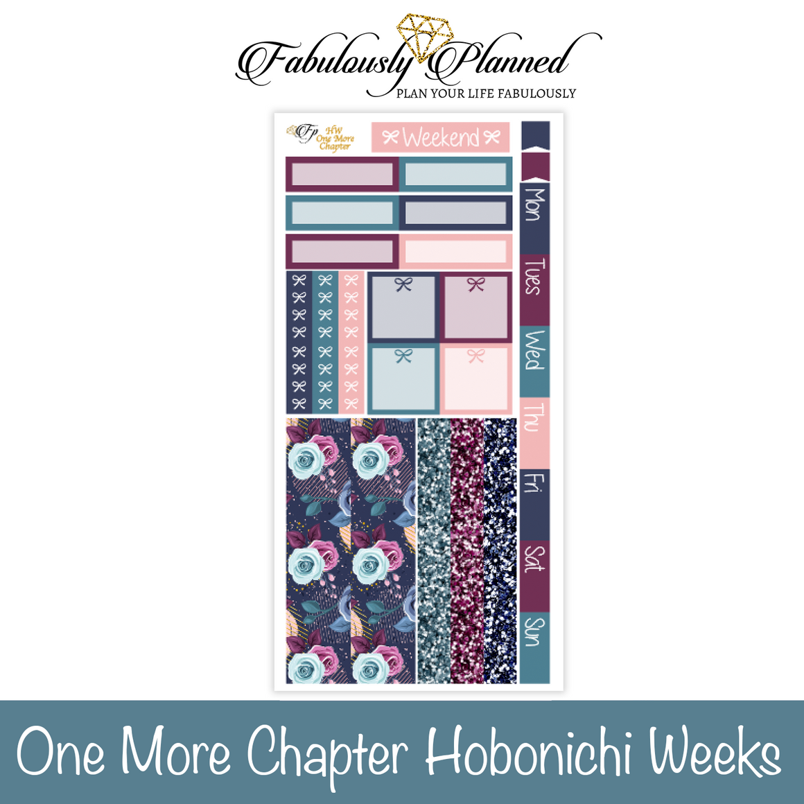 One More Chapter Hobonichi Weeks Kit