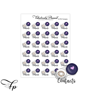 Contacts Stickers