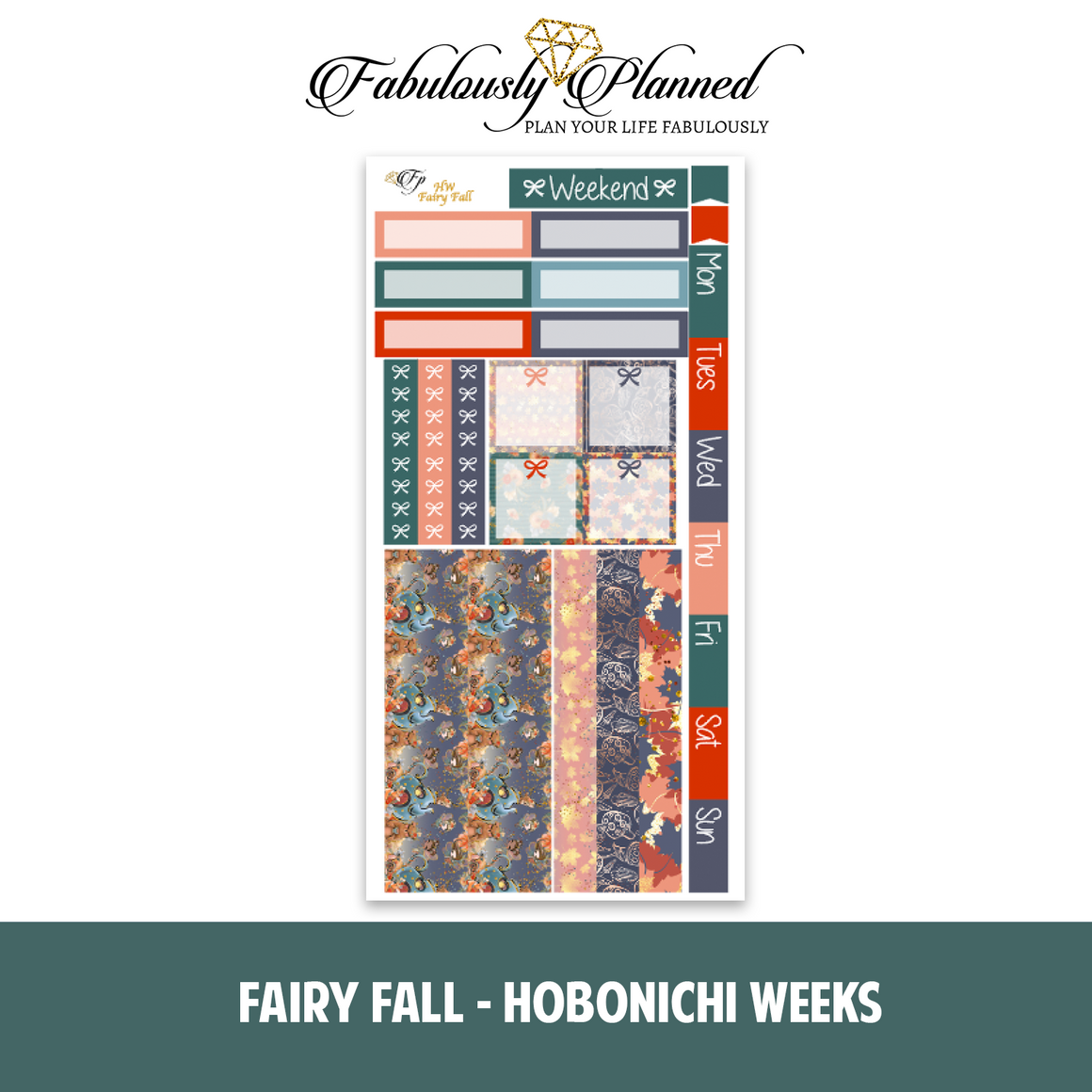 Fairy Fall Hobonichi Weeks Kit