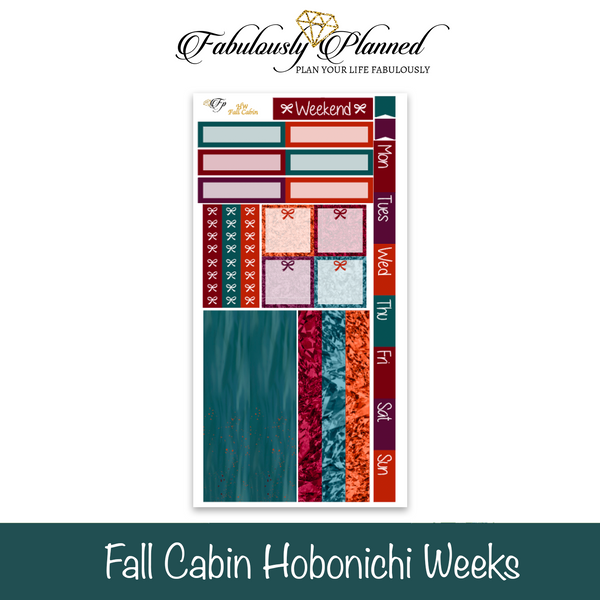 Fall Cabin Hobonichi Weeks Kit