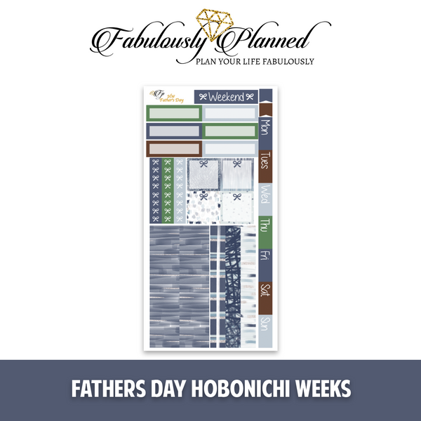 Father's Day Hobonichi Weeks Kit