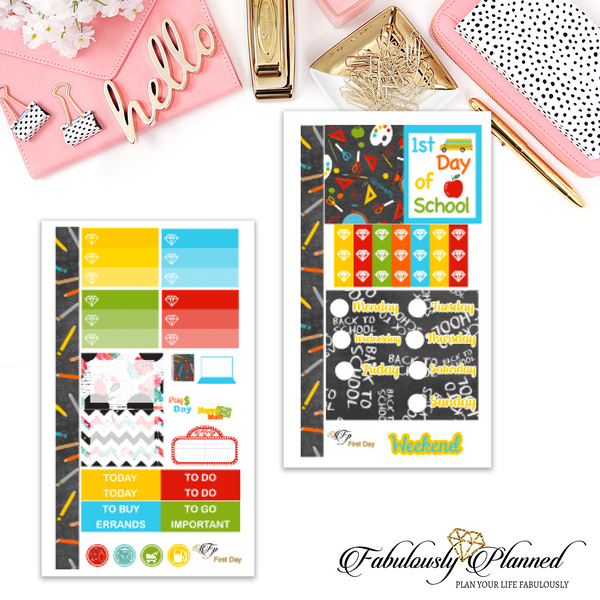 First Day Personal Planner Kit