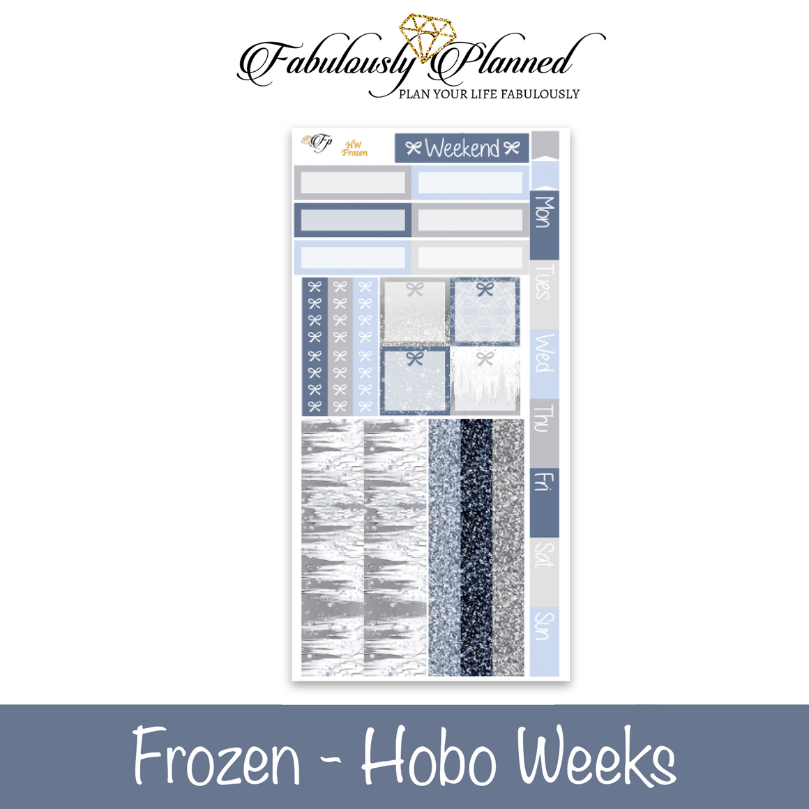 Frozen Hobonichi Weeks Kit