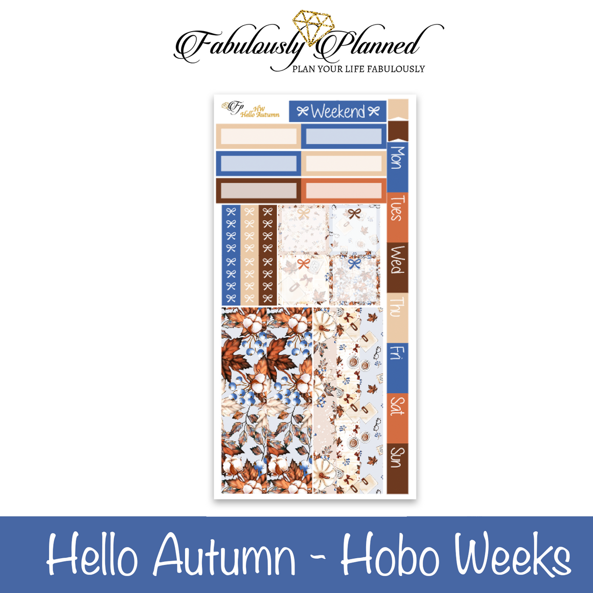 Hello Autumn Hobonichi Weeks Kit