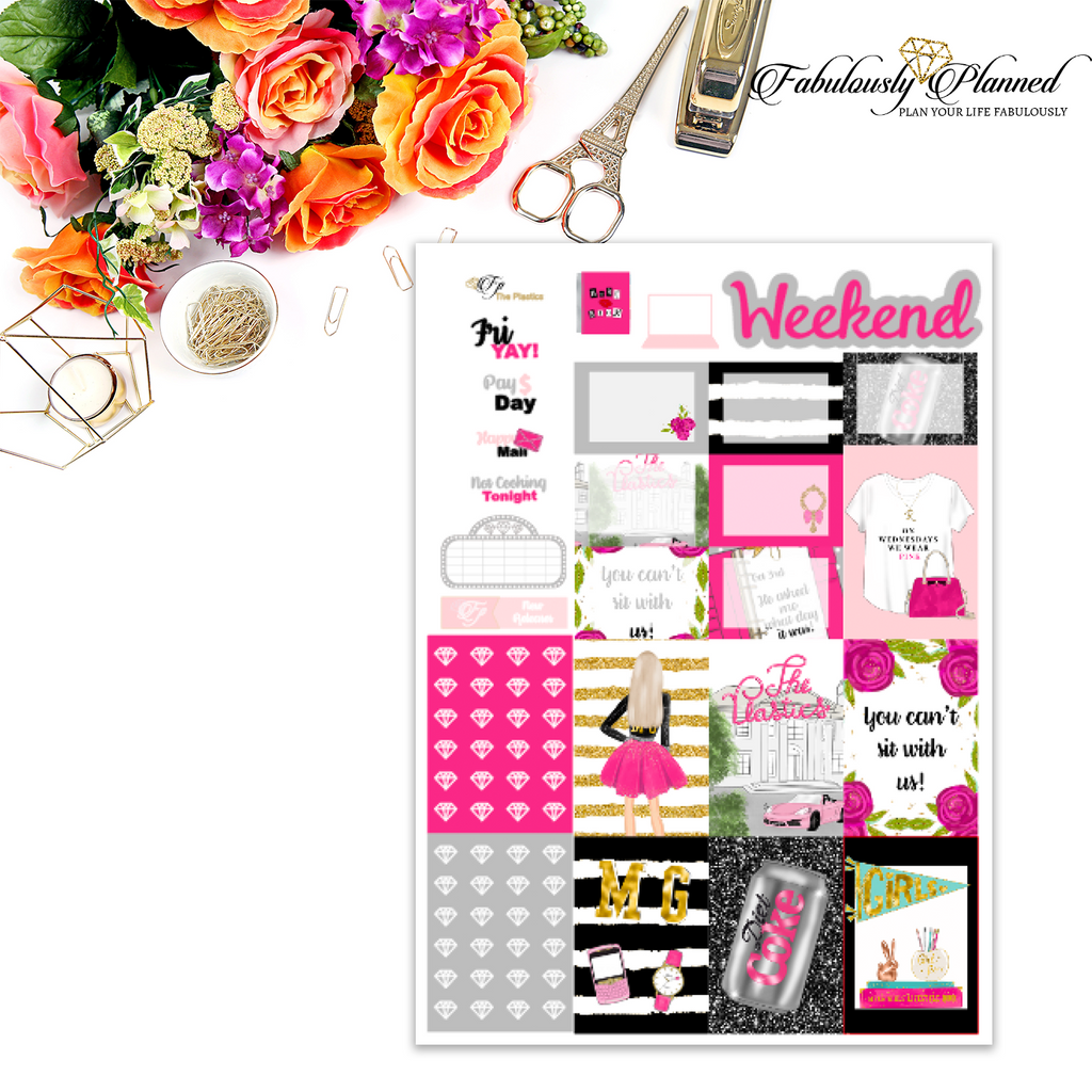 The Plastics Happy Planner Weekly Kit