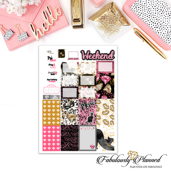 Meow Happy Planner Weekly Kit