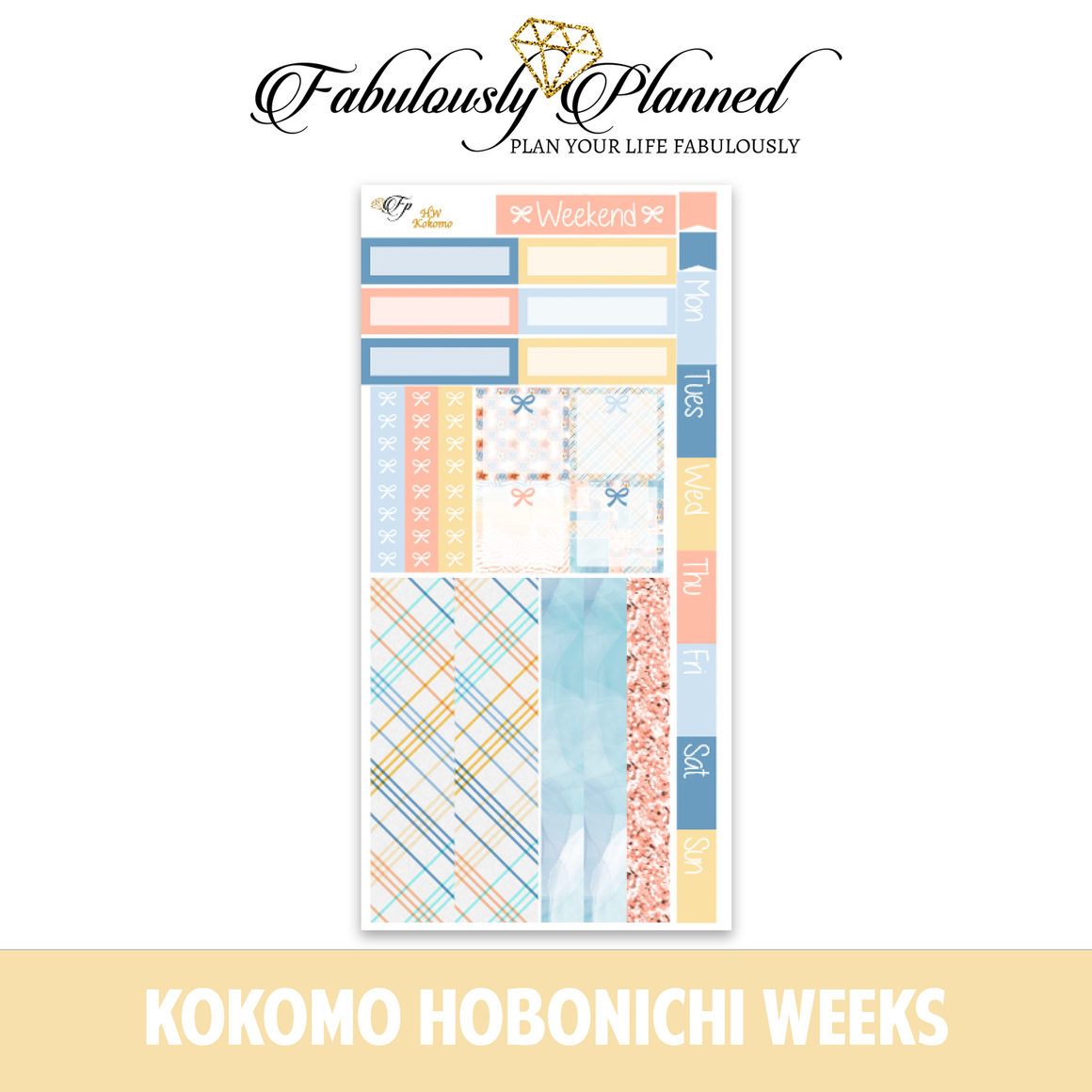 Kokomo Hobonichi Weeks Kit