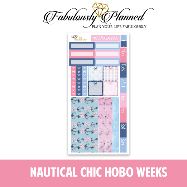 Nautical Chic Hobonichi Weeks Kit