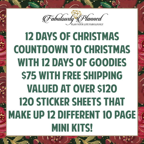 The Fabulous 12 Days of Christmas!