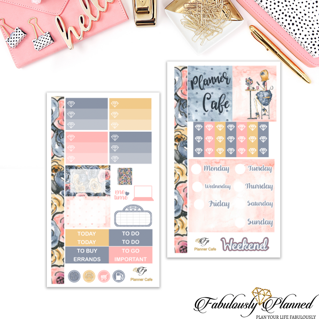 Planner Cafe Personal Planner Kit