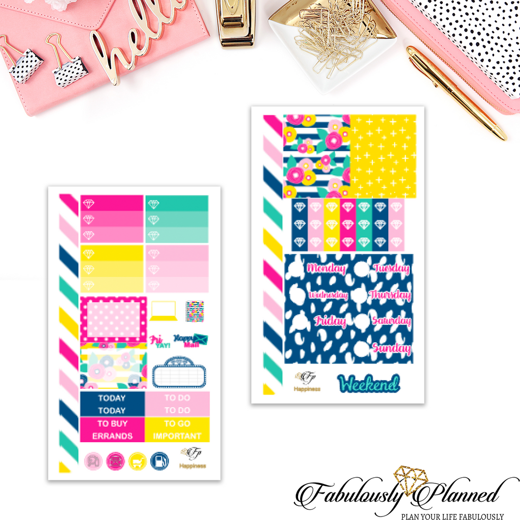 Happiness Personal Planner Kit