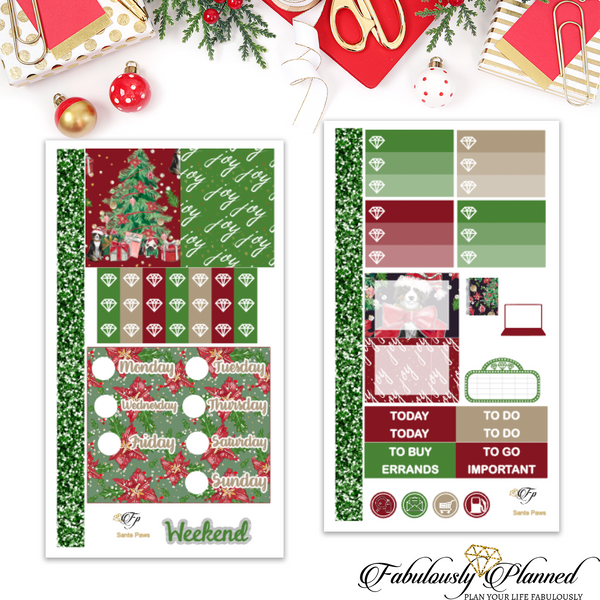 Santa Paws Personal Planner Kit