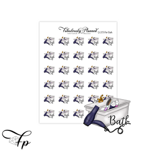 Pet Bath Stickers  - Pet Series