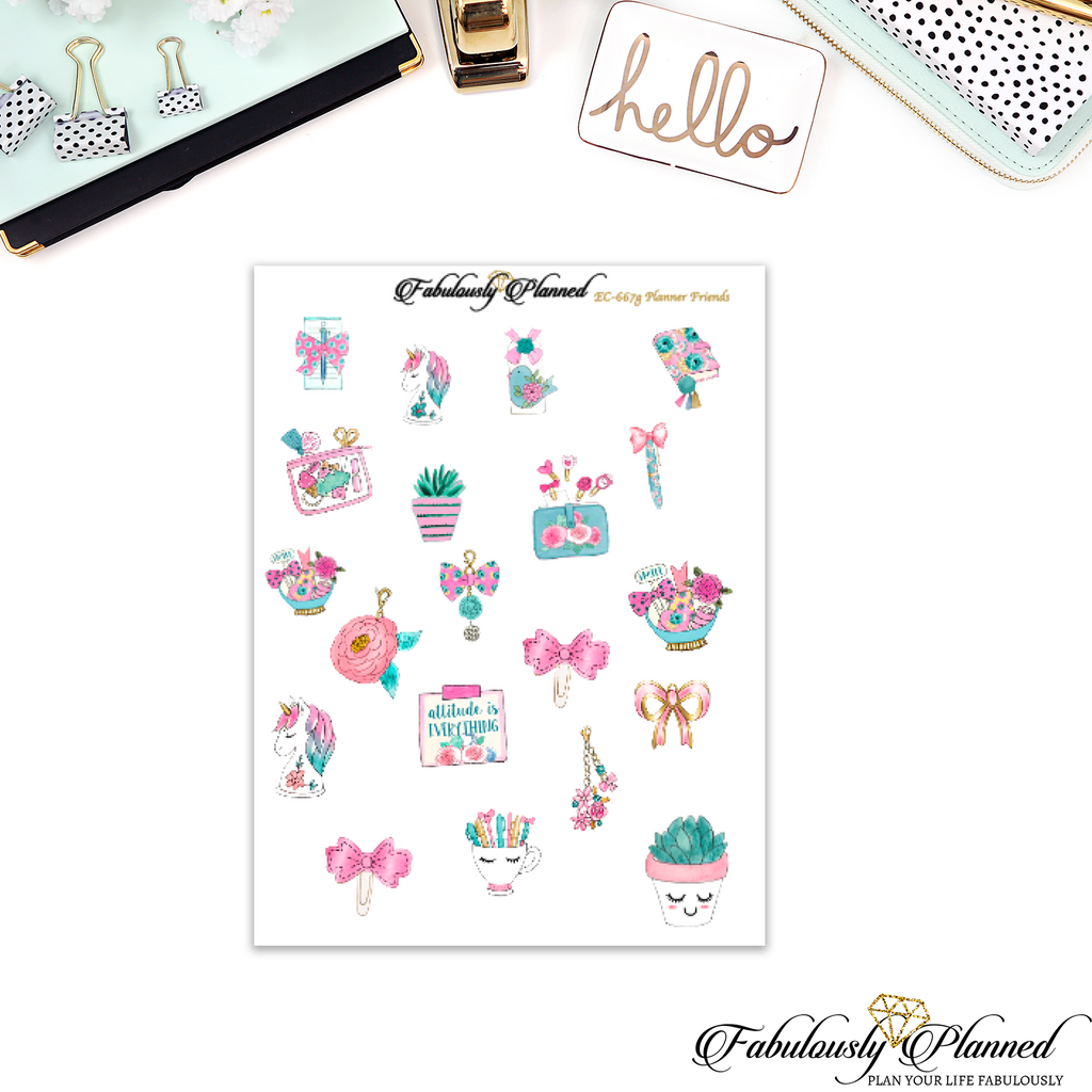 Planner Friends Collection