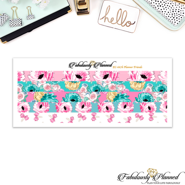 Planner Friends Skinny Washi