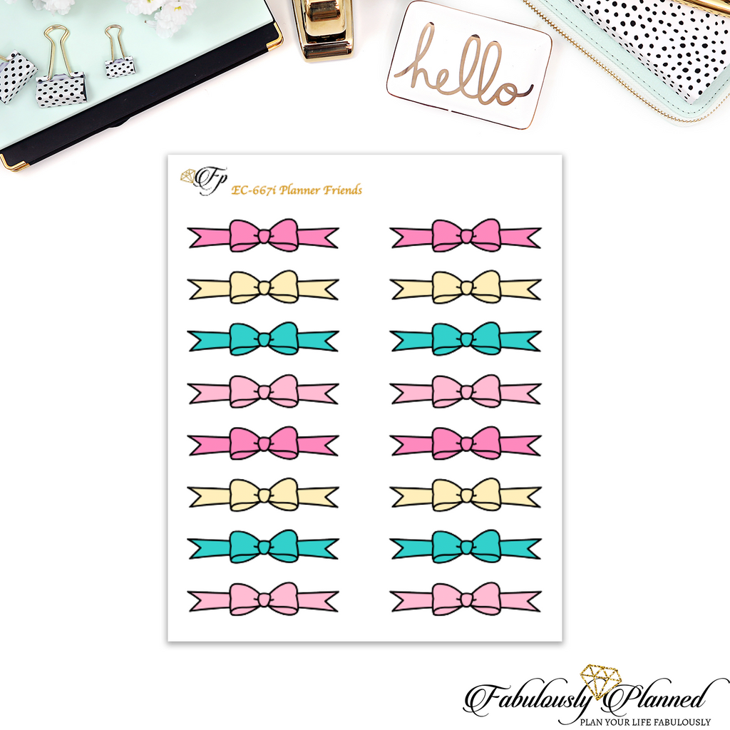 Planner Friends Bow Dividers