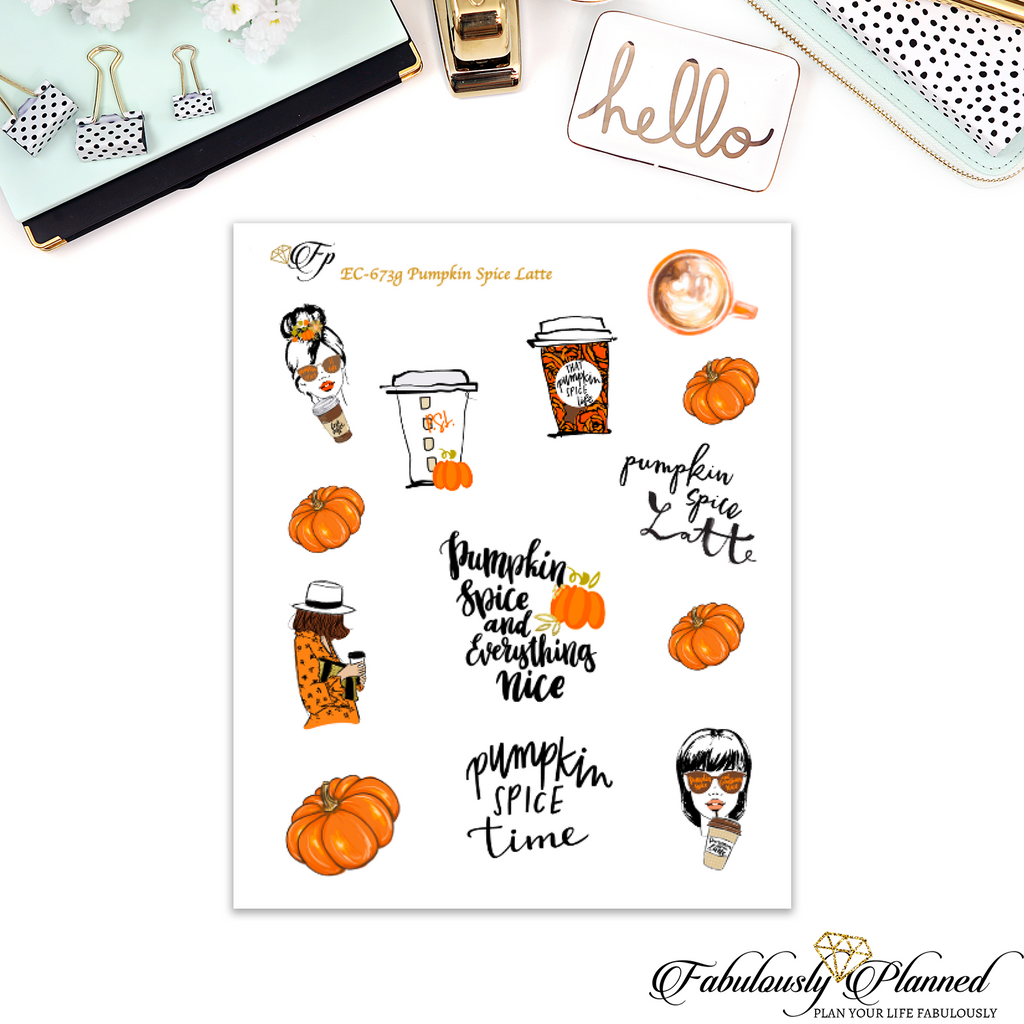 Pumpkin Spice Latte Collection