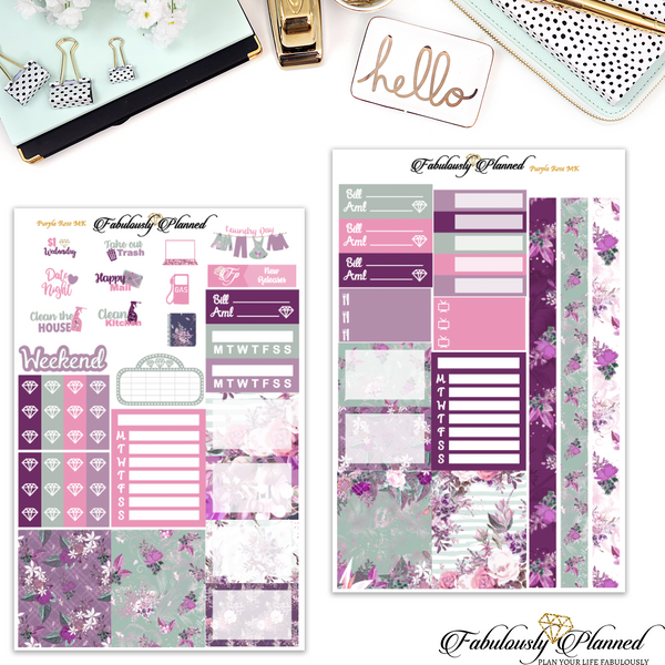 Purple Rose Mini Kit