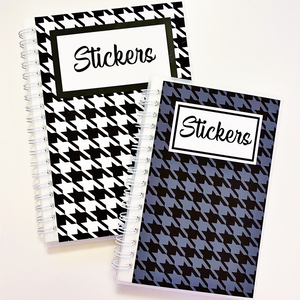 Reusable Sticker Albums (size options) Customize!