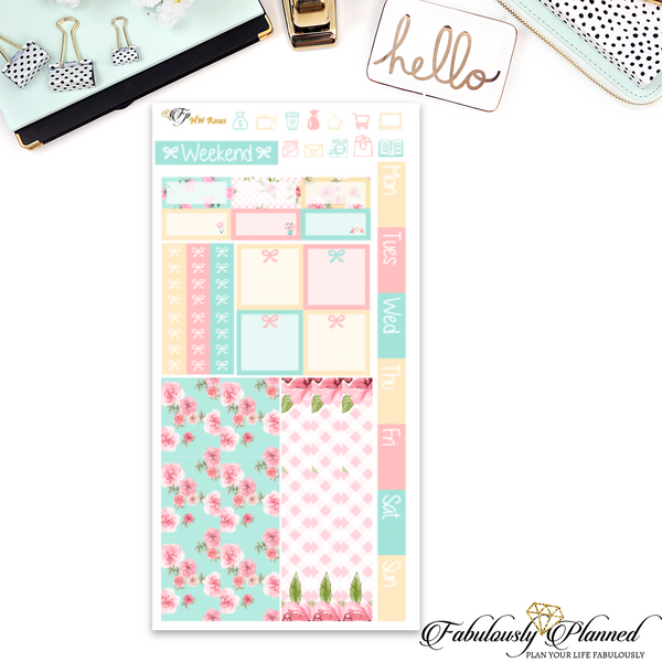 Roses Hobonichi Weeks Kit