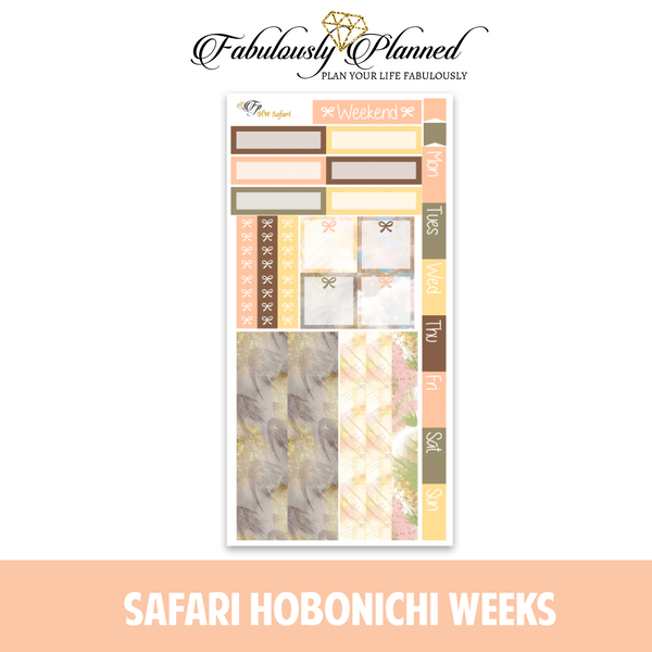 Safari Hobonichi Weeks Kit