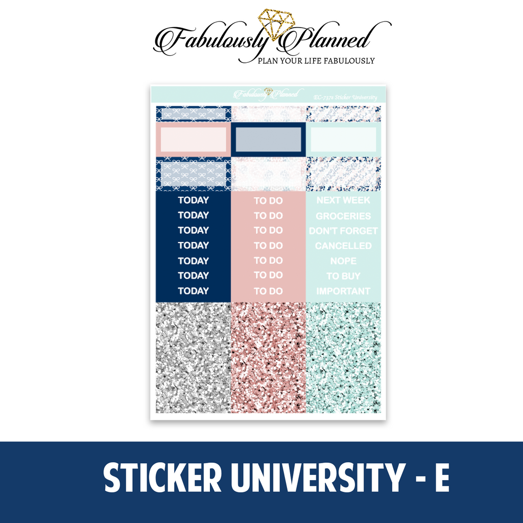 Sticker University Collection