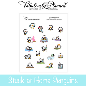 Stuck at Home Penguins
